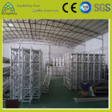 de Vierkante Bundel van de Gebeurtenis van het Optuigen van de Spon van het Aluminium van de Ontwerpfase van het Systeem van de Bundel van prestaties (001)