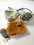 Sistema di allarme del MP3 del motociclo con il pulsante
