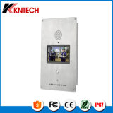 Kntech Emergency Sicherheits-Telefon IP-Video-Telefon des Telefon-Knzd-60