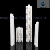 1: 800 умрите Cast Plastic Tall Model Building для Building Decoration