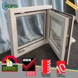 Awaニュージーランドの標準UPVCによって二重ガラスをはめられる傾きの回転Windows