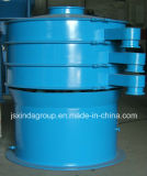 Gomma di gomma di vibrazione del setaccio della polvere del vagliatore di Xinda Zs-1000 che ricicla macchina