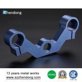 Таможни процесса заливки формы высокой точности части CNC алюминиевой подвергая механической обработке