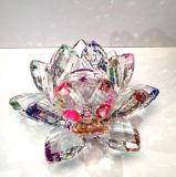 De Ambacht van Lotus van het Glas van het Kristal van het ambacht voor de Decoratie van het Huis