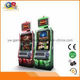 Casino de luxe da máquina de jogo do entalhe dos armários de Gamebling do empurrador da moeda