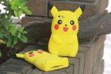 3D Pokemon vão iPhone de Casefor do telefone de pilha dos desenhos animados do silicone de Pikachu e Samsung macia amarela/modelo novo Y5II de Huawei (XSDW-0220)