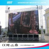 El mejor panel de visualización a todo color al aire libre de LED del alquiler del precio P6 SMD de China
