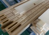 Basswood de vue de Z vrai obturateurs de plantation de manière de porte intérieure de lame de 89 millimètres