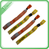 Kundenspezifisches Classical Woven RFID Wristbands für Concert