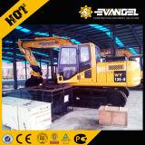 Excavador hidráulico Wy135-8 de la correa eslabonada de 13 toneladas