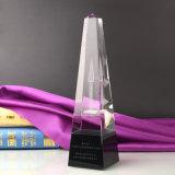 Großhandelssport-Kristall spricht GlasWeltcup-Trophäe zu (KS4008)