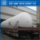 El tanque de almacenaje líquido horizontal del acero inoxidable de la certificación de ASME GB