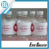 플라스틱 병을%s 광수 병 방수 접착성 라벨