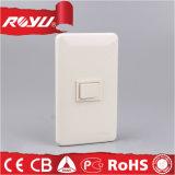 Micro interruptor elétrico da parede da tecla com vida 40000