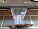 Gabinete de cozinha UV altamente lustroso de madeira da cor (FY8721)