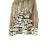 新しい到着のペルーの毛の毛の拡張の実質の毛の拡張クリップ