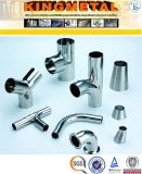 ASTM A403 Wp304 Stainless Steel Food Grade Sanitary Fittings Prix