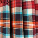 Baumwollpopelin-gesponnenes Garn färbte Gewebe für Kleid-Hemden/Kleid Rls40-43po