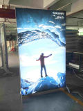Movable Free Standing Light Box Standing LED Frameless Display Fabric Light Box