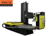 Perfuração horizontal de seis linhas centrais e centro fazendo à máquina de trituração do CNC
