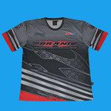 T-shirt dos homens/T Sublimation dos homens/garganta de grupo Sublimated Jersey