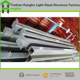Hogar prefabricado casero del marco de acero del envase con alta calidad