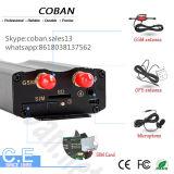 ドアロックとのCoban GPSの追跡者の手段Tk 103b+はシステム及びエンジン停止を遠隔にロック解除する