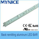 Barra rígida de remitência traseira do diodo emissor de luz do alumínio para anunciar a caixa