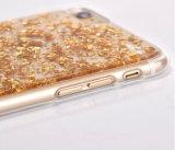 Diverses couleurs et caisse de portable de la mode TPU avec la caisse de platine de l'iPhone (XSDD-004)