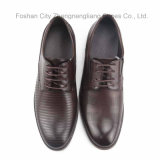 Человек Fashion Dress Shoes с Simple Embossing Design (HDS-D7)