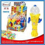 Musikfighting-Roboter-Spielzeug mit Süßigkeit