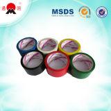 Certificado de color cinta adhesiva de embalaje