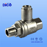 Ce 2PC Ball Valve con Protective Cover