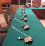 Sistemas de audio prácticos de sala de conferencias del sistema de conferencia de Singden (SM616V)