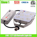 100W E40 LED Retrofit Kit Light para estacionamento com ETL