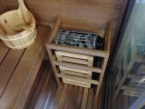 A sauna contínua fantástica interna Combos do chuveiro do vapor do cedro de Canadá