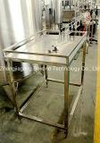 Завалка алюминиевой чонсервной банкы пива малого масштаба и машина запечатывания