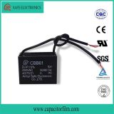 Cbb61 Ventilatormotor-Läufer-Kondensator, Kondensator für Ventilator
