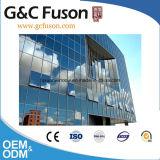 Pared de cortina de aluminio del vidrio laminado hecha en China