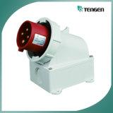 Plot électrique industriel/fiche d'IP67 4pin 32A/63A Mennekes
