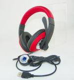 Calcolatore poco costoso di prezzi della Cina che chiacchiera cuffia avricolare stereo in linea da vendere, trasduttore auricolare collegato con il Mic