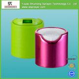 Bottiglia di plastica dell'animale domestico vuoto con la capsula superiore della protezione di Filp per uso del prodotto disinfettante della mano