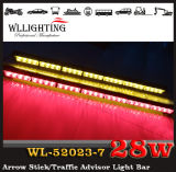 Traffic Advisorの赤いWhite Arrow Warning Stick LED Strobe Lights