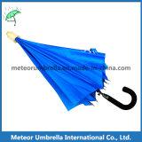 Plastikabdeckung-wasserdichter Non-Drip gerader automatischer geöffneter erwachsener Regenschirm