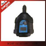 DC24V aan AC110V 125W miniautoomschakelaar, 125W autoomschakelaar met digitale vertoning