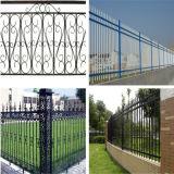 Garten, der Sicherheits-bearbeitetes Eisen-Zaun einzäunt
