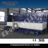 Fabricante refrigerando direto do bloco de gelo