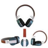 Auscultadores quente de Bluetooth do Headband do OEM do Sell com cartão do TF