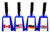 Cowbell mit Rubber Grip Handle in Customized Colors