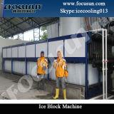 Machine de glace de bloc/centrale industrielles (1-150T)